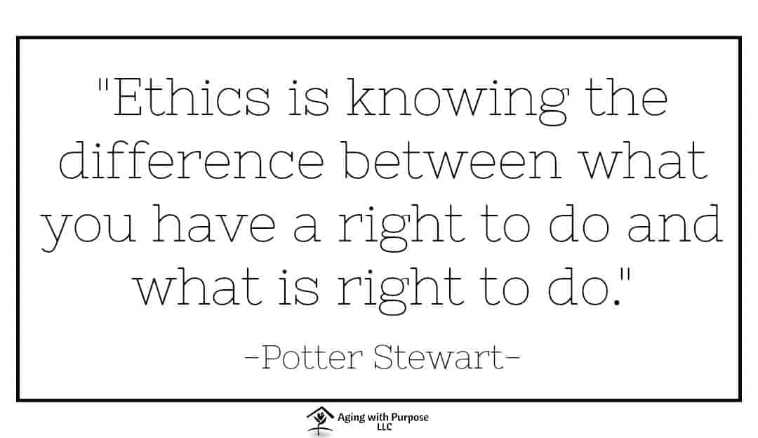 Ethics Quote by Potter Stewart