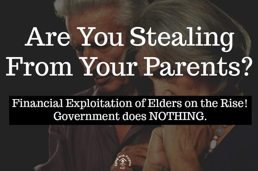 Financial Exploitation in Elder abuse - aging with purpose llc - elder abuse advocacy - nursing home negligence awareness 2