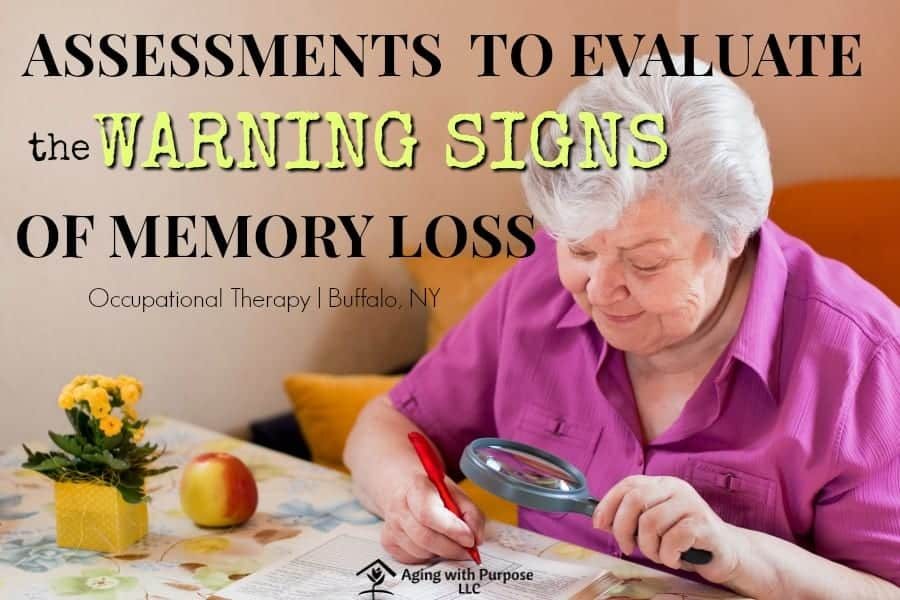 MEMORY ASSESSMENT FOR OLDER ADULTS   BUFFALO, NY