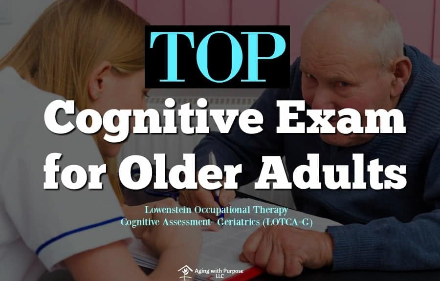 Top Cognitive Exam for Older Adults | DLOTCA-G | Occupational Therapy