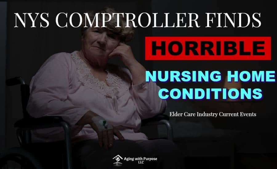 Nursing Home Air Suction Machine Covered in Dust | New York State