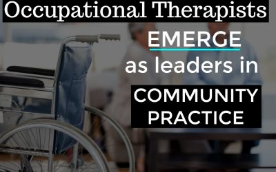 Productive Aging Specialists | Occupational Therapists emerge as Leaders in Community Practice | Buffalo Occupational Therapy