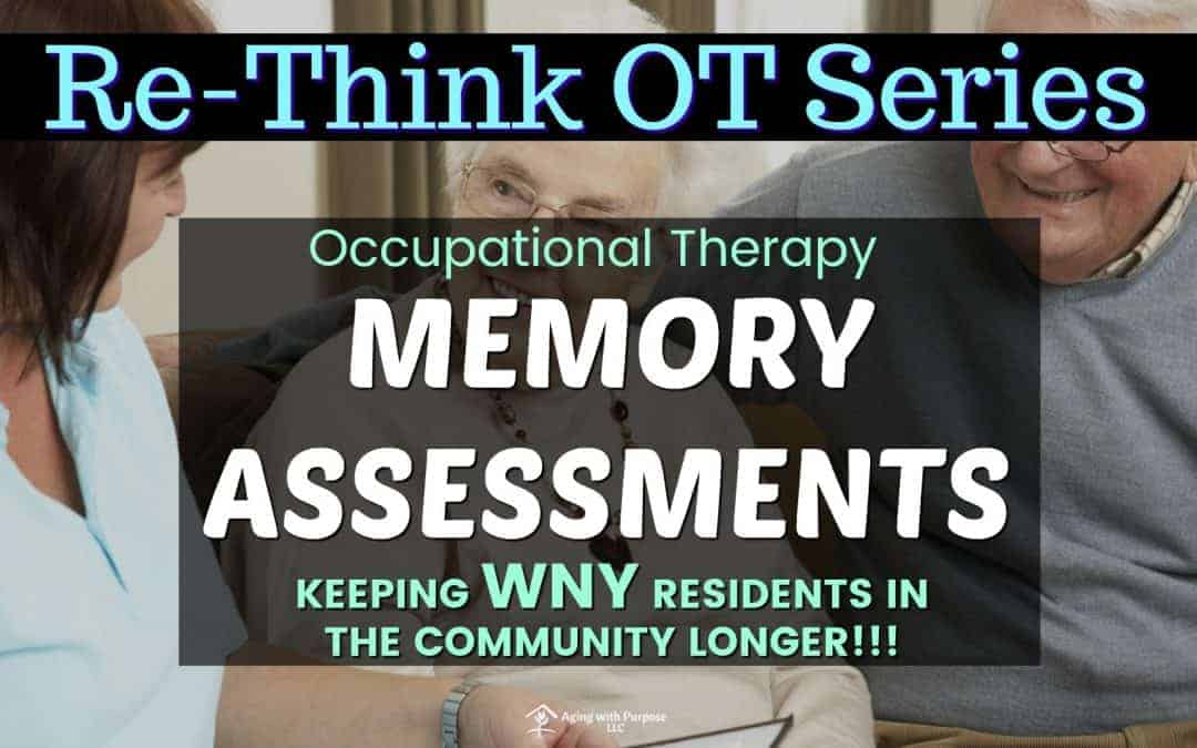 Memory Assessments in WNY Senior Living Apartments | Buffalo Occupational Therapy
